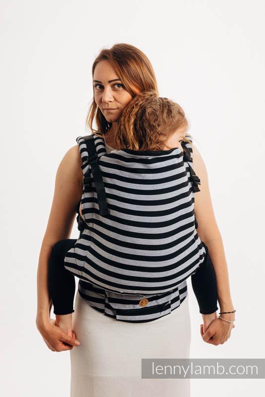 LennyPreschool Carrier, Preschool Size, broken - twill weave 100% cotton - LIGHT & SHADOW #babywearing