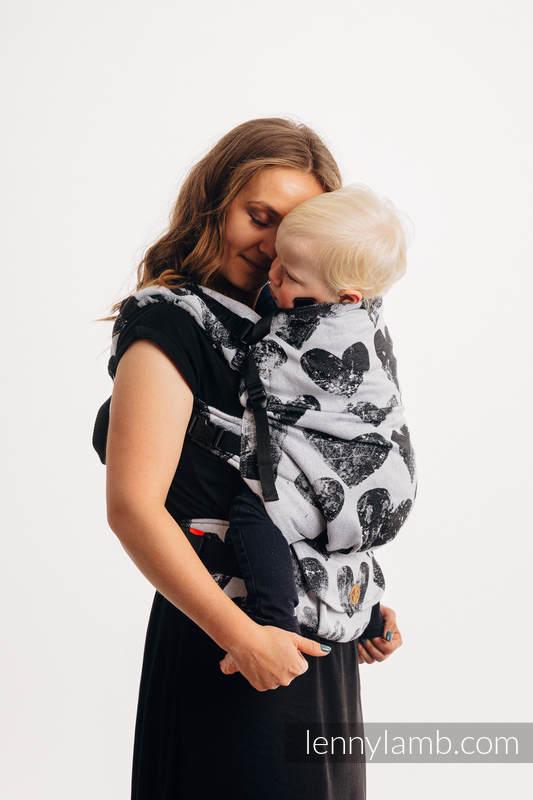 LennyPreschool Carrier, Preschool Size, jacquard weave 100% cotton - LOVKA CLASSIC #babywearing