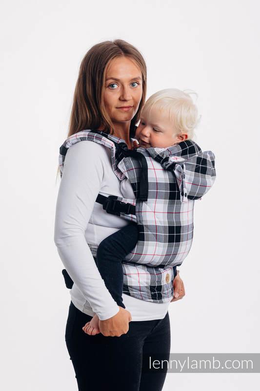 LennyGo Mochila ergonómica, talla toddler,  tejido de sarga 100% algodón - ARCADIA PLAID #babywearing