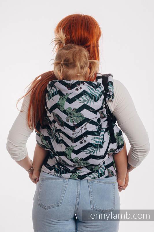Nosidełko LennyPreschool  z tkaniny żakardowej 100% bawełna, rozmiar preschool - ABSTRACT  #babywearing
