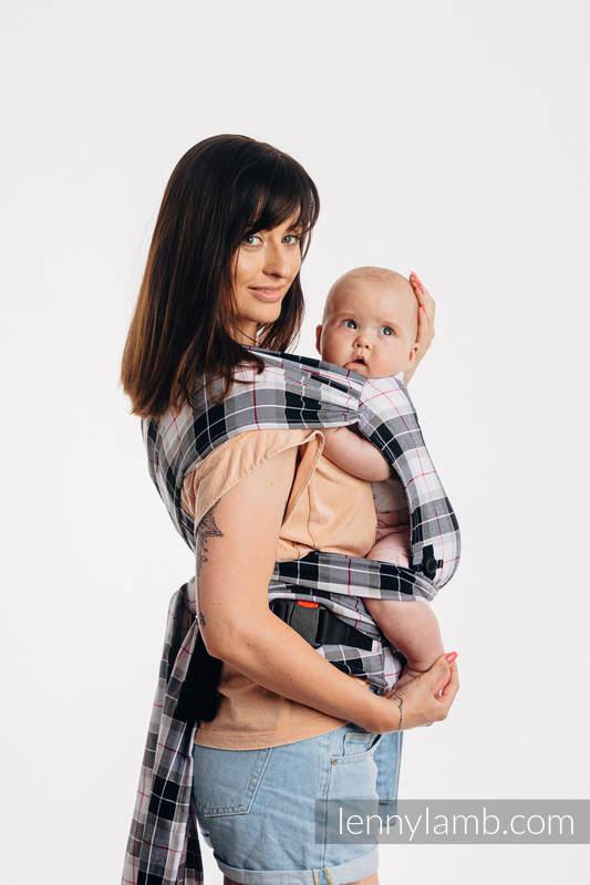 LennyHybrid Half Buckle Carrier, Standard Size, twill weave 100% cotton - ARCADIA PLAID #babywearing