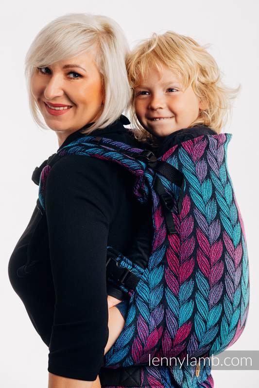 Nosidełko LennyPreschool  z tkaniny żakardowej 100% bawełna, rozmiar preschool - ZAPLĄTANI W MIŁOŚĆ #babywearing