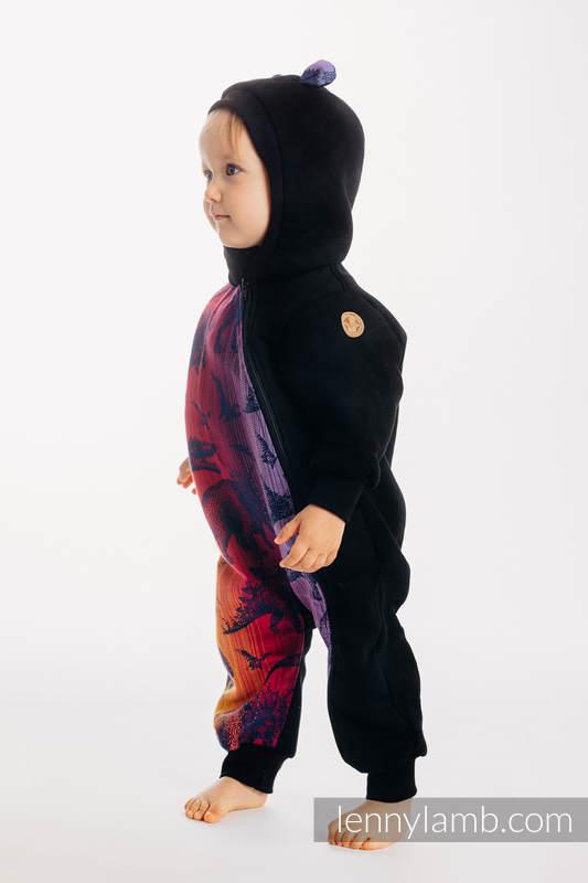 Bear Romper - size 92 - Black & Jurassic Park - New Era #babywearing