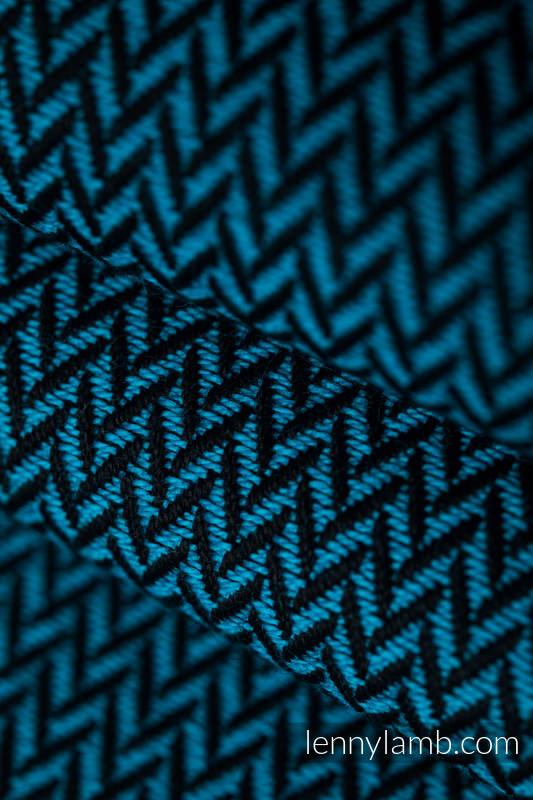 Baby Wrap, Herringbone Weave (100% cotton) - LITTLE HERRINGBONE TIDE - size XS #babywearing