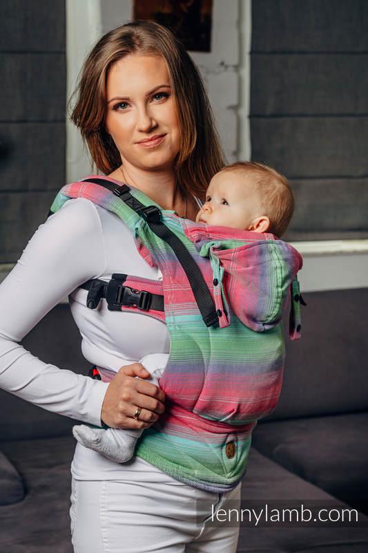LennyGo Basic Line Ergonomic Carrier - FUSION-  Baby Size, twill weave 100% cotton  #babywearing