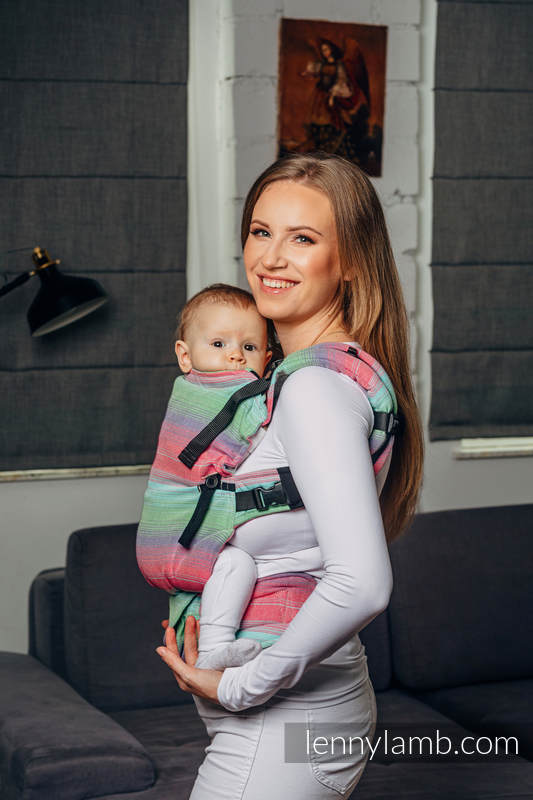 LennyUpGrade Carrier, Standard Size, twill weave 100% cotton - BASIC LINE FUSION #babywearing