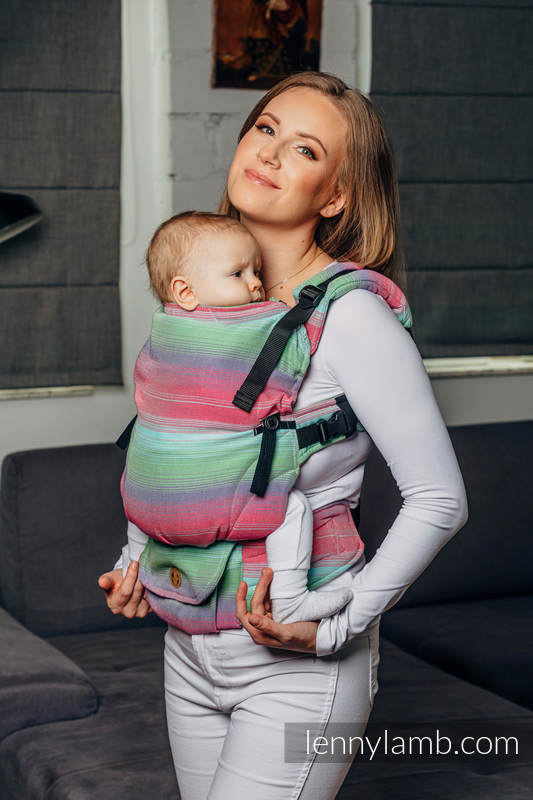 Nosidełko LennyUpGrade, splot skośny, 100% bawełna , rozmiar standard - BASIC LINE FUSION #babywearing