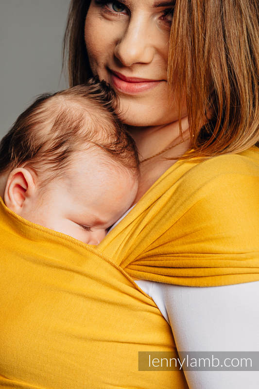 Stretchy/Elastic Baby Sling - Amber - standard size 5.0 m (grade B) #babywearing