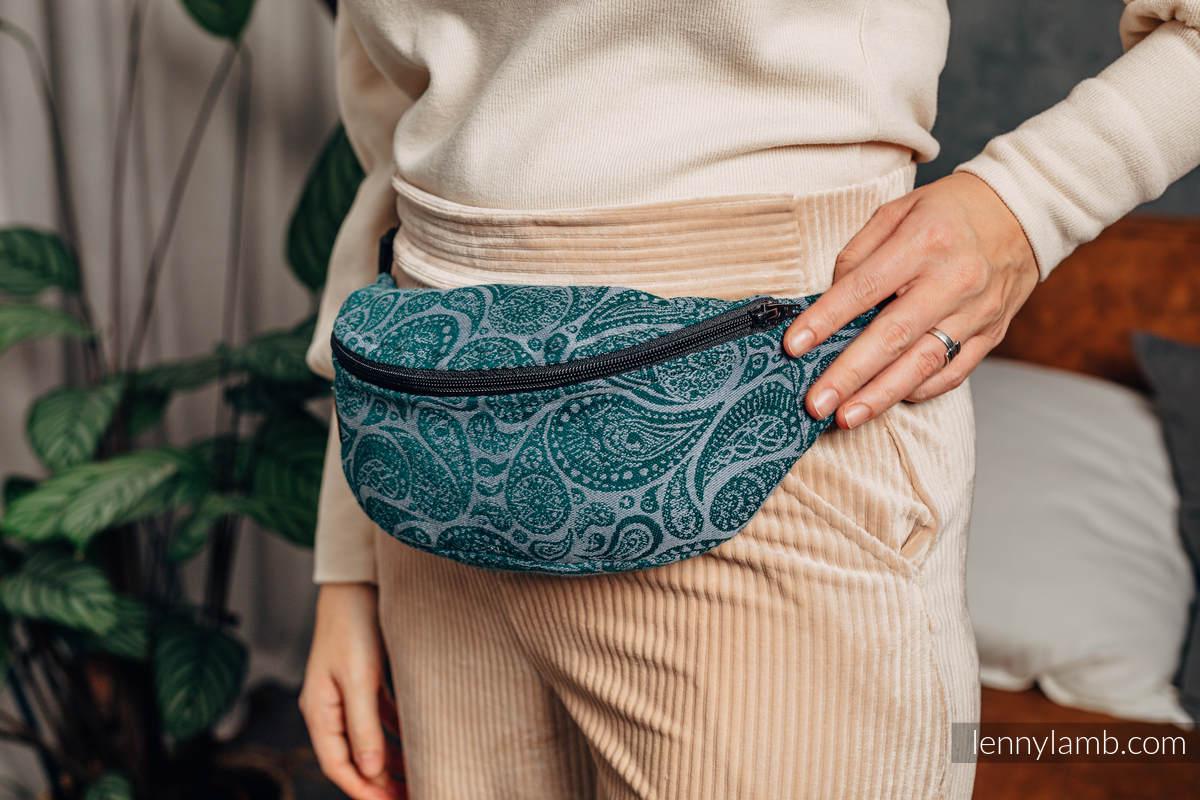 Waist Bag made of woven fabric, (100% cotton) - PAISLEY - HABITAT #babywearing