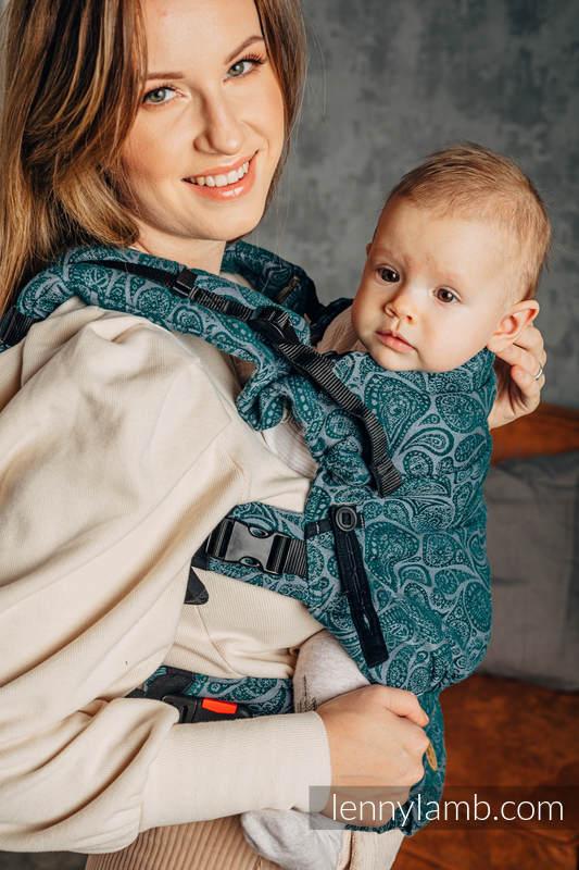 LennyUpGrade Carrier, Standard Size, jacquard weave 100% cotton - PAISLEY - HABITAT #babywearing