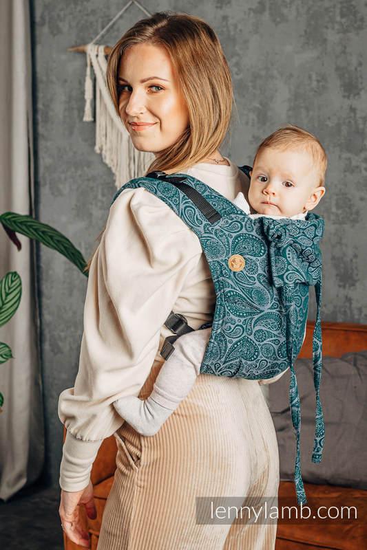 Lenny Buckle Onbuhimo Tragehilfe, Größe Standard, Jacquardwebung (100% Baumwolle) - PAISLEY - HABITAT #babywearing