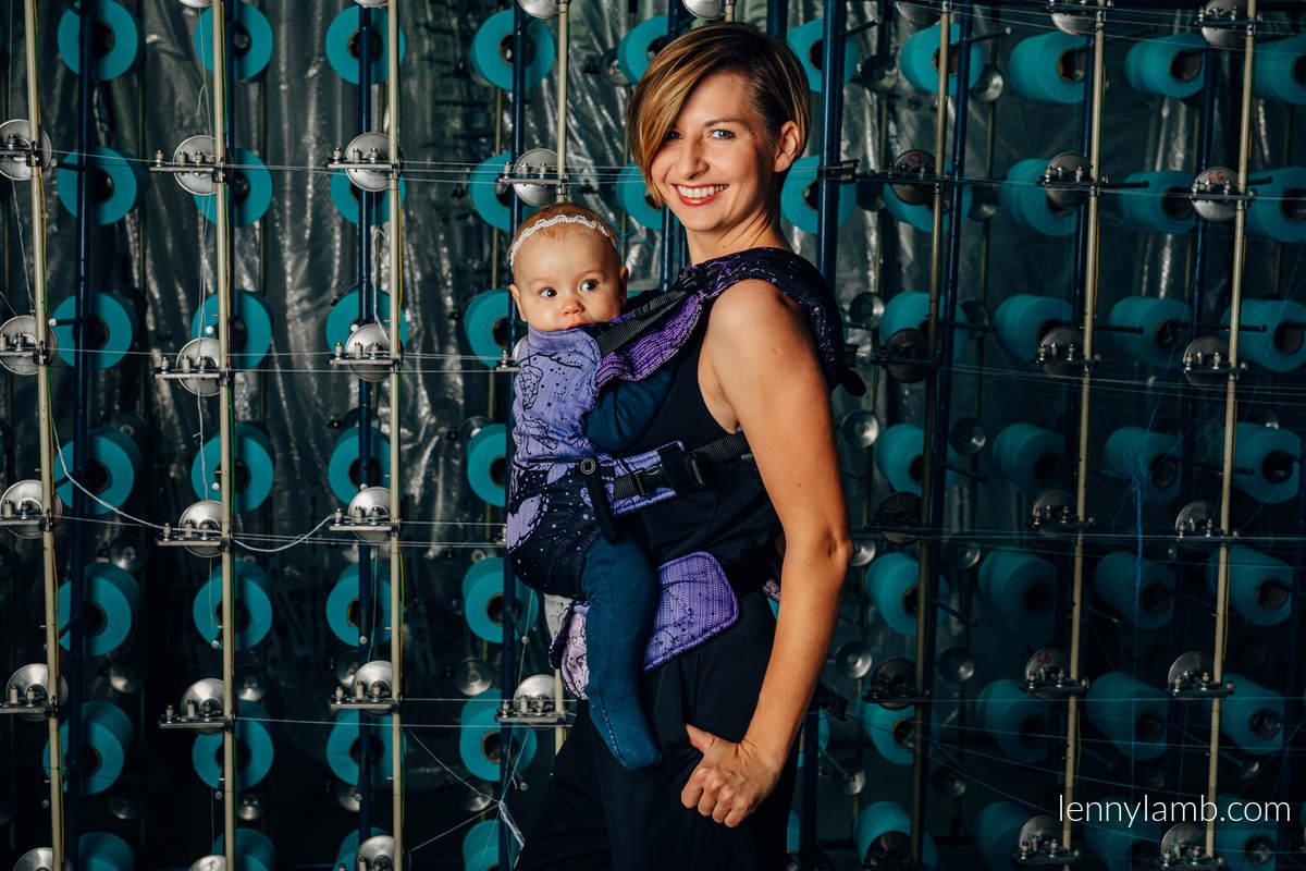 Nosidełko LennyUpGrade z tkaniny żakardowej 100% bawełna , rozmiar standard - WEAVING CHALLENGE - LIFELONG #babywearing