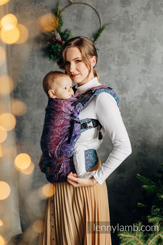 LennyUpGrade Tragehilfe, Größe Standard, Jacquardwebung, 100% Baumwolle - PAISLEY - KINGDOM  #babywearing