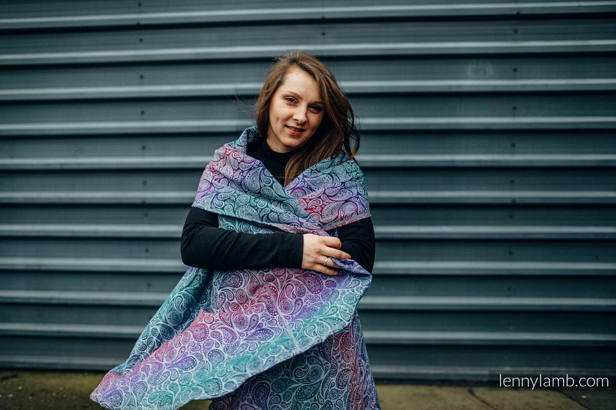 Long Cardigan - Plus size  - PAISLEY - KINGDOM #babywearing