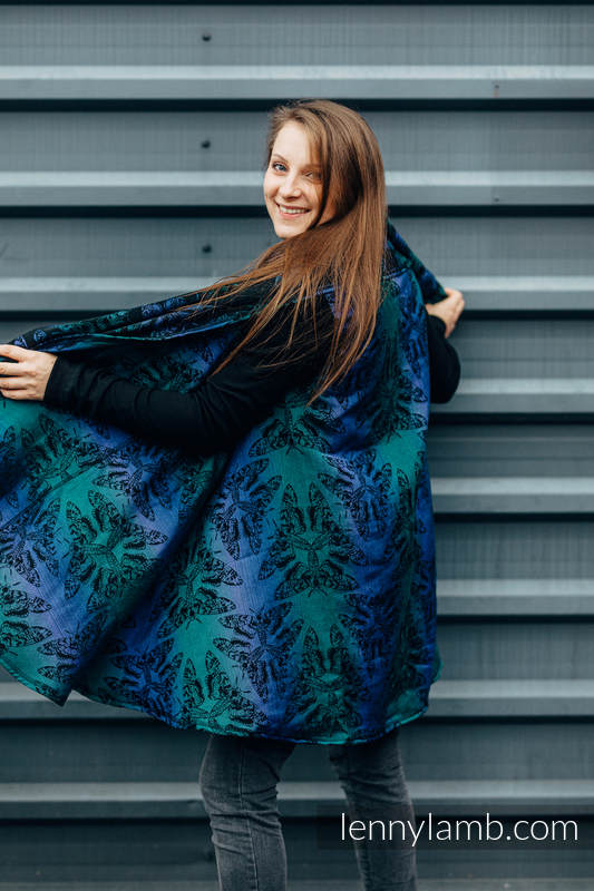 Long Cardigan - size S/M - QUEEN OF THE NIGHT - ECLIPSE #babywearing