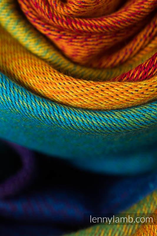 LennyPreschool Carrier, Preschool Size, jacquard weave 100% cotton - RAINBOW BABY #babywearing