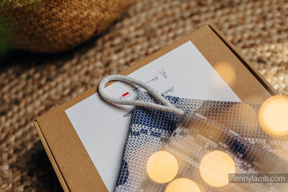 Beutel fürs Geschenk (80% Baumwolle, 20% Merinowolle) - Standard Größe 32cmx43cm #babywearing