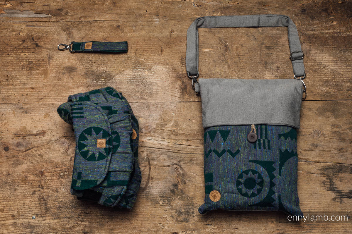 LennyUpGrade Carrier, Standard Size, jacquard weave, (43% tussah silk, 31% combed cotton, 9% merino wool, 9% cashmere, 8%mulberry silk) - EXPERIMENT no.10 #babywearing