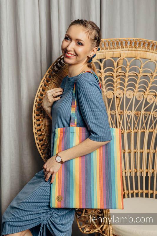 Bolsa de la compra hecho de tejido de fular (100% algodón) - LUNA #babywearing