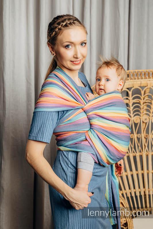 Tragetuch, Kreuzköper-Bindung (100% Baumwolle) - LUNA - Größe L #babywearing