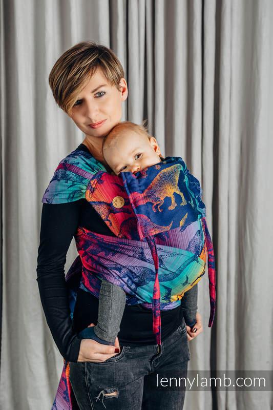 WRAP-TAI carrier Mini with hood/ jacquard twill / 100% cotton - JURASSIC PARK - NEW ERA #babywearing