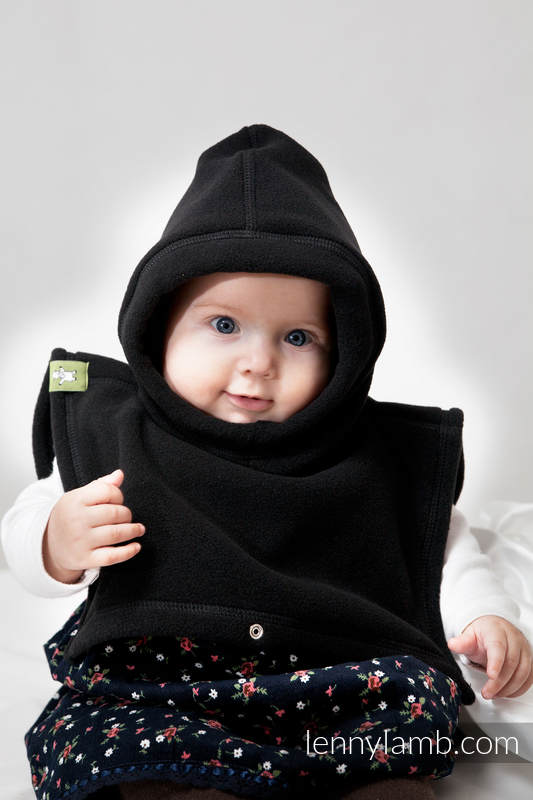 Turtleneck for two - black (grade B) #babywearing