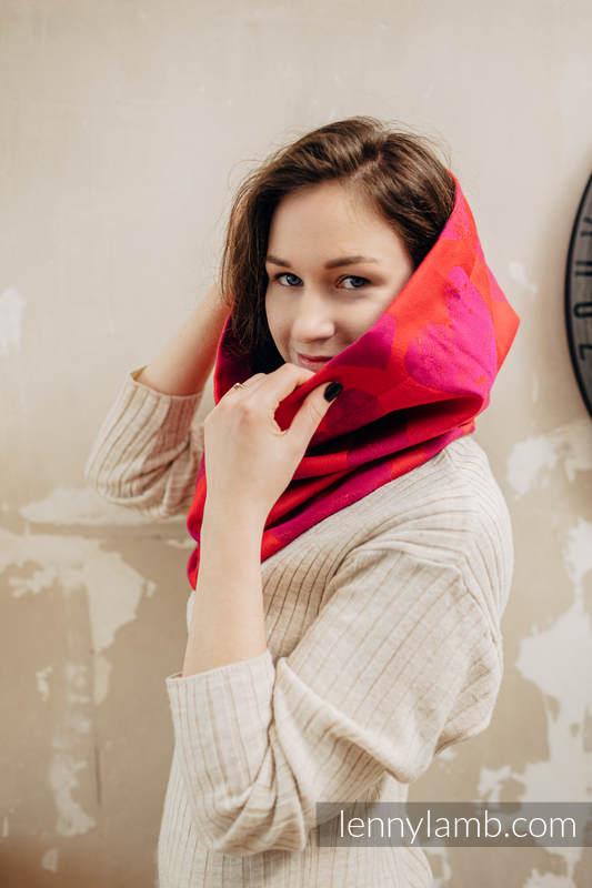 Scaldacollo (100% cotone) - LOVKA MY VALENTINE & SUGILITE #babywearing