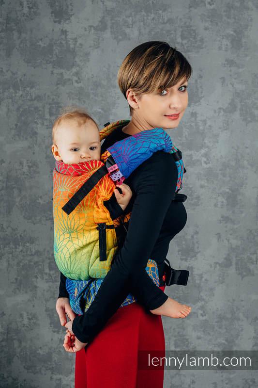 Schultergurtschoner (60% Baumwolle, 40% poliester) - RAINBOW LOTUS   #babywearing