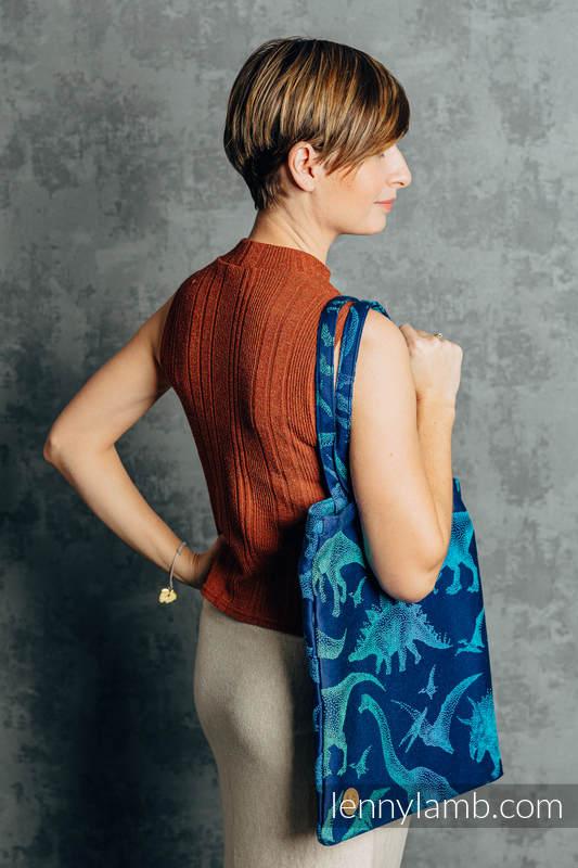 Shopping bag made of wrap fabric (100% cotton) - JURASSIC PARK - EVOLUTION  #babywearing