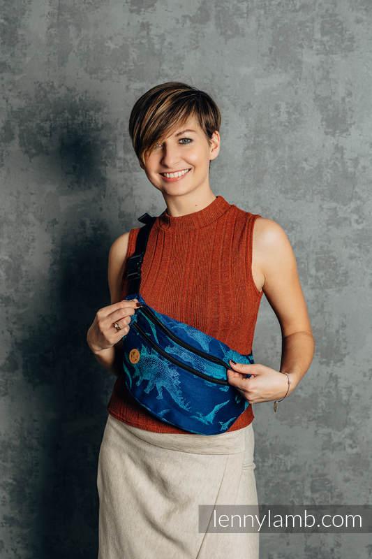 Waist Bag made of woven fabric, size large (100% cotton) - JURASSIC PARK - EVOLUTION  #babywearing