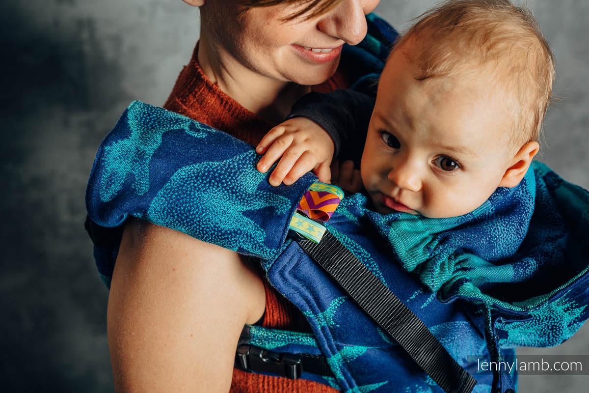 Drool Pads & Reach Straps Set, (60% cotton, 40% polyester) - JURASSIC PARK - EVOLUTION  #babywearing