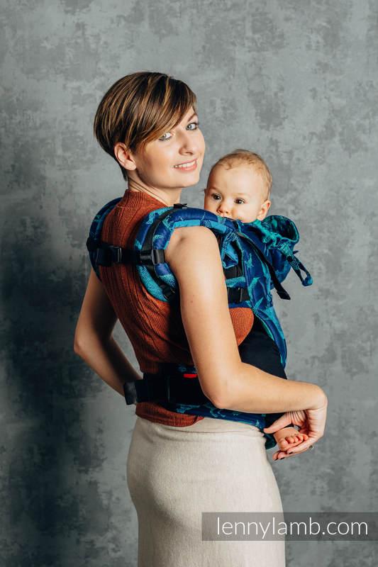LennyGo Ergonomic Carrier, Baby Size, jacquard weave 100% cotton - JURASSIC PARK - EVOLUTION  #babywearing