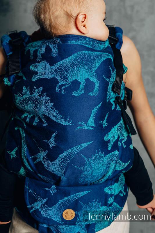 LennyUpGrade Carrier, Standard Size, jacquard weave 100% cotton - JURASSIC PARK - EVOLUTION  #babywearing