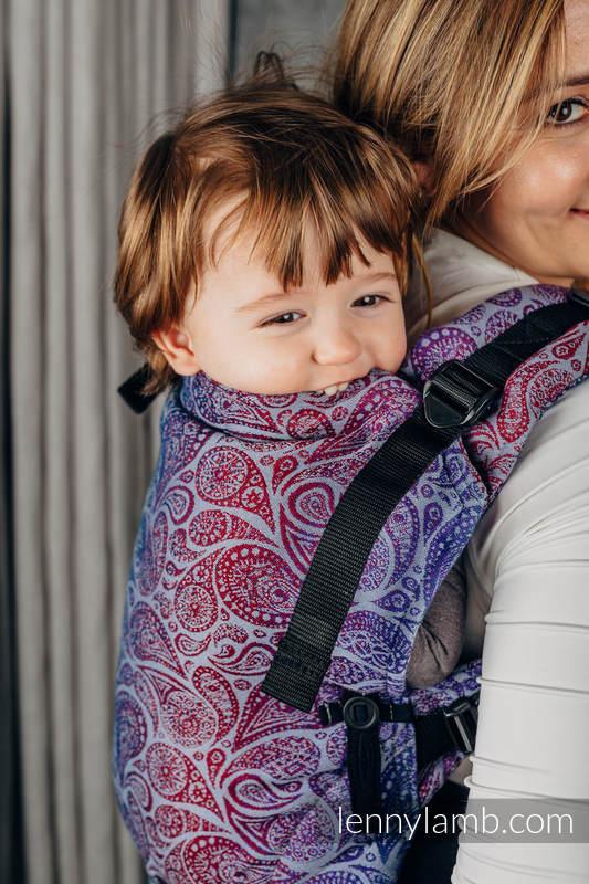 LennyUpGrade Carrier, Standard Size, jacquard weave 100% cotton - PAISLEY - KINGDOM  #babywearing