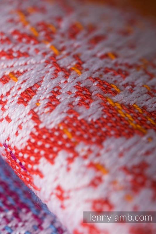 Baby Wrap, Jacquard Weave (100% cotton) - DRAGONFLY RAINBOW - size M #babywearing
