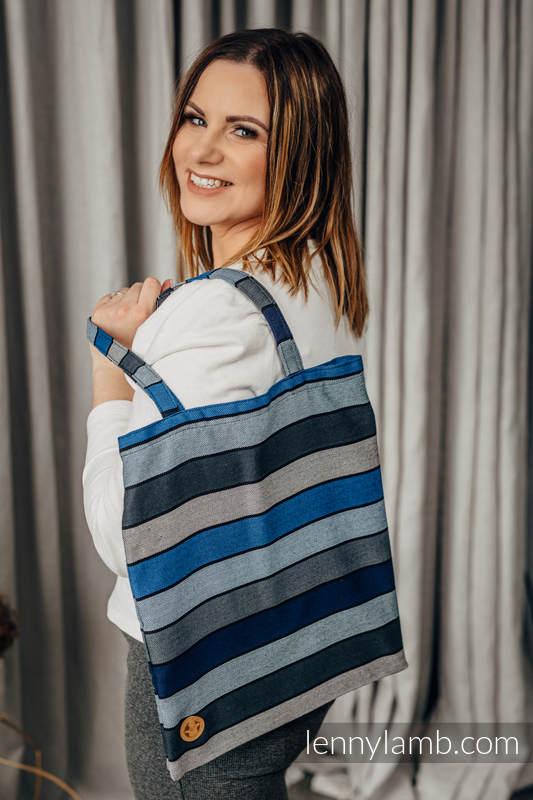Shopping bag made of wrap fabric (100% cotton) - WATERFALL  #babywearing