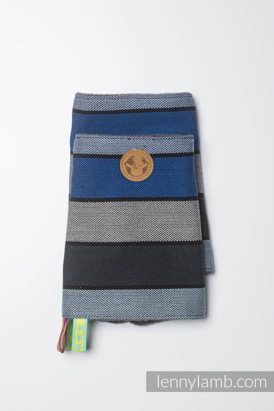 Drool Pads & Reach Straps Set, (60% cotton, 40% polyester) - WATERFALL  #babywearing