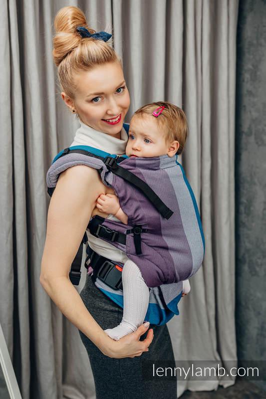 LennyUpGrade Carrier, Standard Size, diamond weave 100% cotton - NORWEGIAN DIAMOND #babywearing