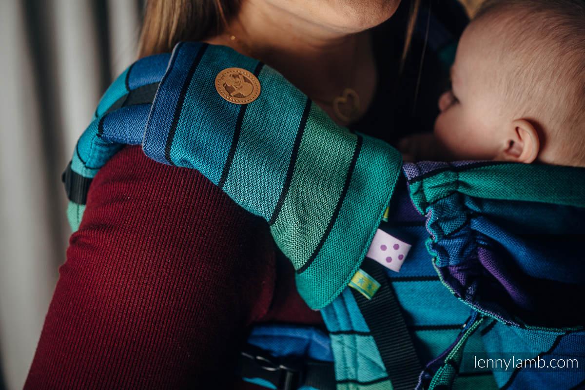 Schultergurtschoner, Set, (60% Baumwolle, 40% poliester) - PROMENADE  #babywearing