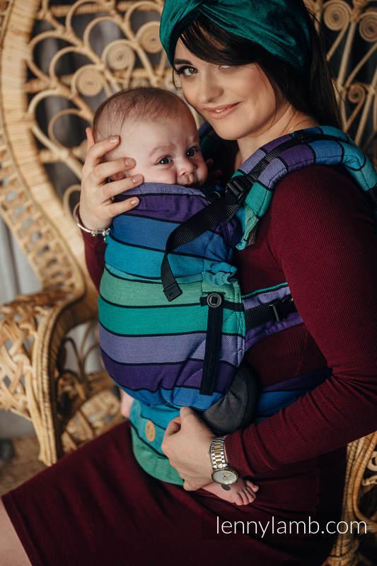 LennyUpGrade Carrier, Standard Size, broken-twill weave 100% cotton - PROMENADE  #babywearing