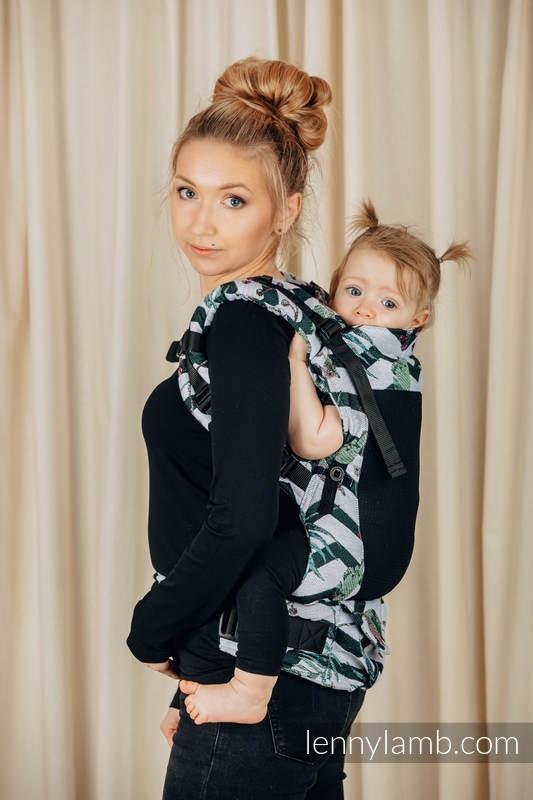 LennyUpGrade Mesh Carrier, Standard Size, jacquard weave (75% cotton, 25% polyester) - ABSTRACT  #babywearing