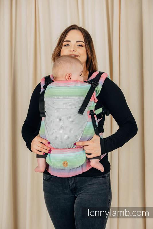 LennyUpGrade Mesh-Tragehilfe, Größe Standard, Köperbindung, 75% Baumwolle, 25% Poliester  - BASIC LINE FUSION #babywearing