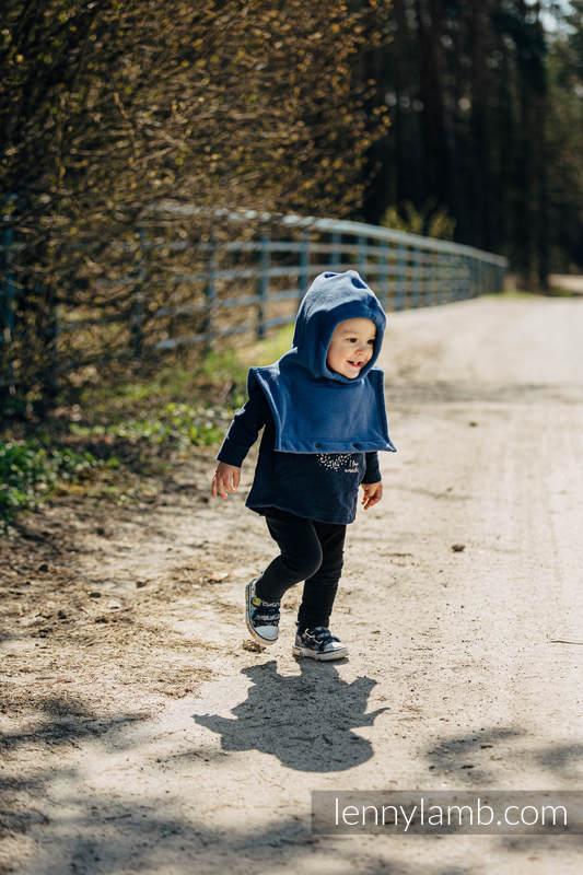 Turtleneck for two (fleece) - Blue #babywearing