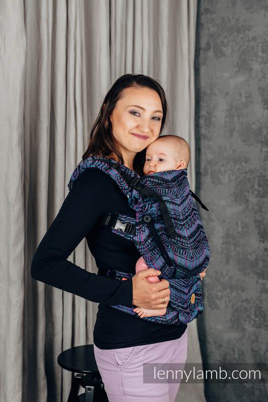 Nosidełko LennyUpGrade z tkaniny żakardowej 100% bawełna , rozmiar standard - BOHO - ECLECTIC #babywearing