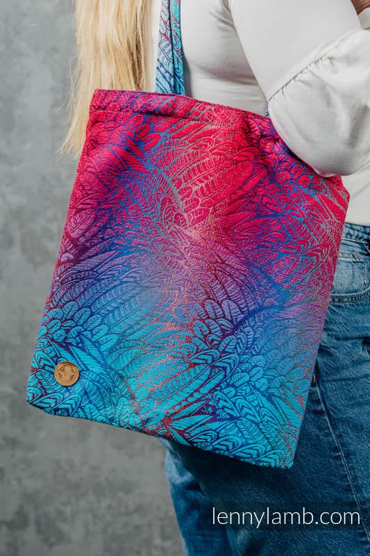 Torba na zakupy z materiału chustowego, (100% bawełna) - WOLNY DUCH - BLAZE  #babywearing