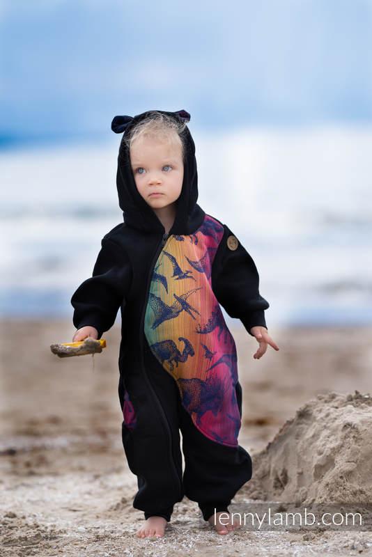 Bear Romper - size 116 - Black & Jurassic Park - New Era #babywearing