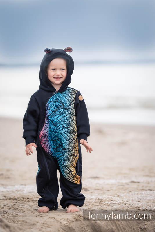 Bear Romper - size 116 - Black & Wild Soul - Daedalus #babywearing