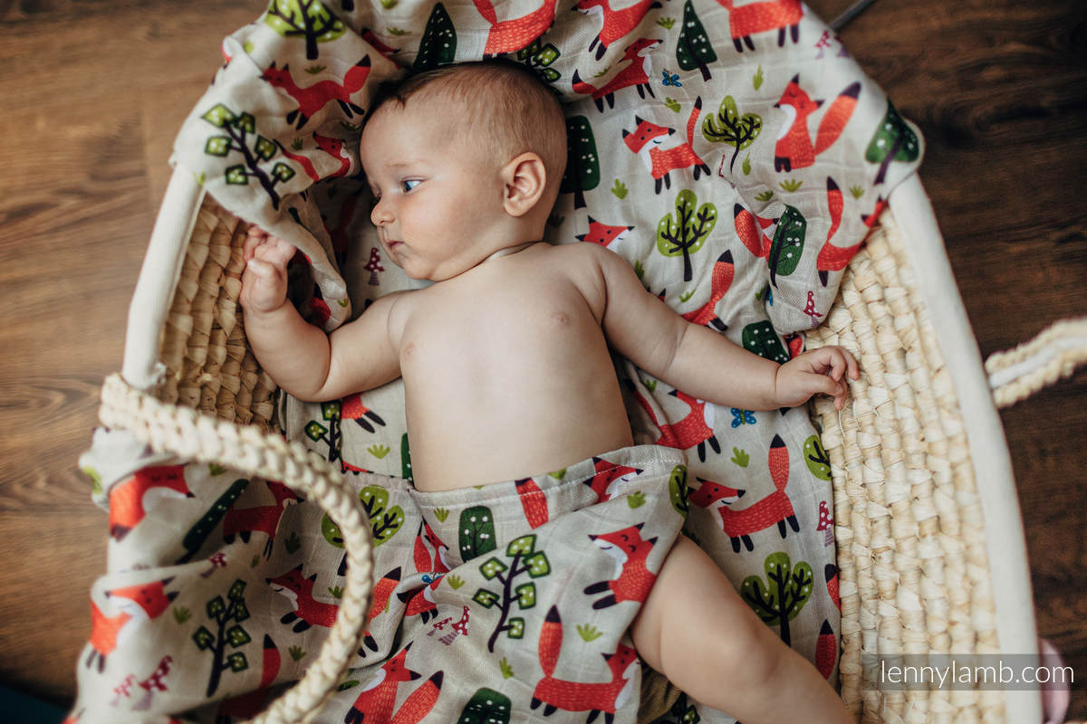 Mulldecke - FOXY FUN #babywearing