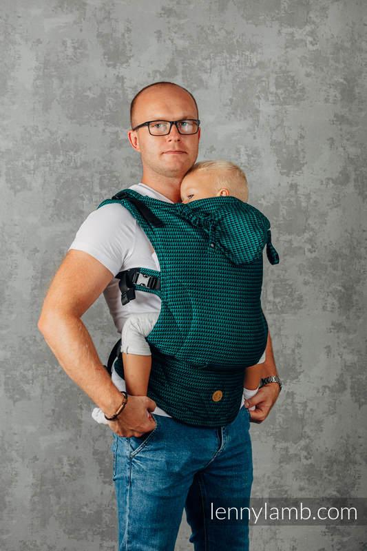 LennyGo Meine Zweite Ergonomische Tragehilfe - JADE, Größe Toddler, tesserawebung, 100% Baumwolle  #babywearing