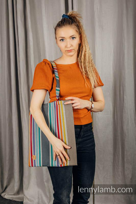 Shopping bag made of wrap fabric (100% cotton) - OASIS #babywearing
